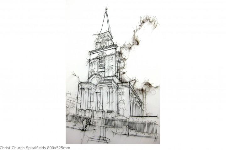 Christ Church Spitalfields 800x525mm