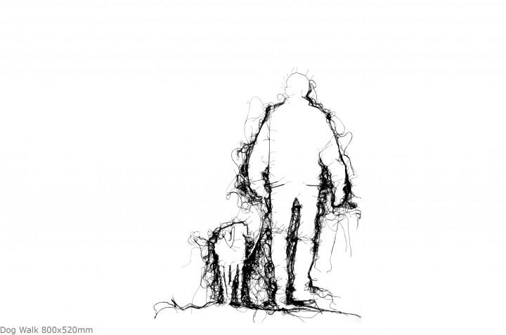 Dog Walk 800x525mm