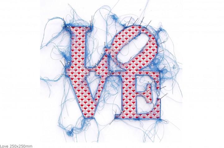 Love 250x250mm