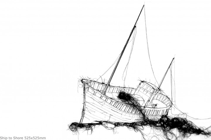 Ship to Shore 525x525mm